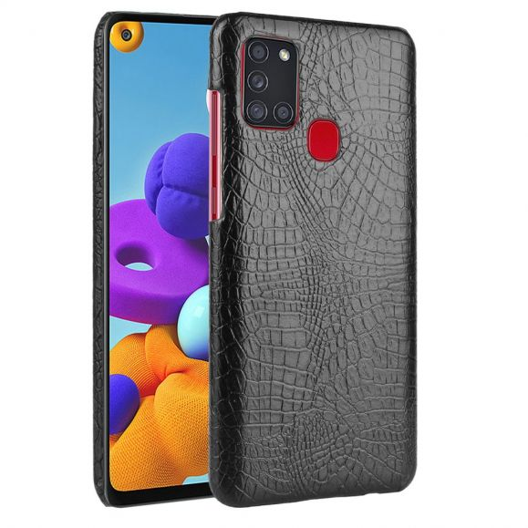 Coque Samsung Galaxy A21s effet peau de croco