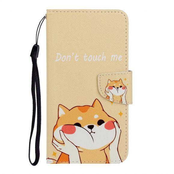 Housse Huawei Y5p Ne me touche pas et chat