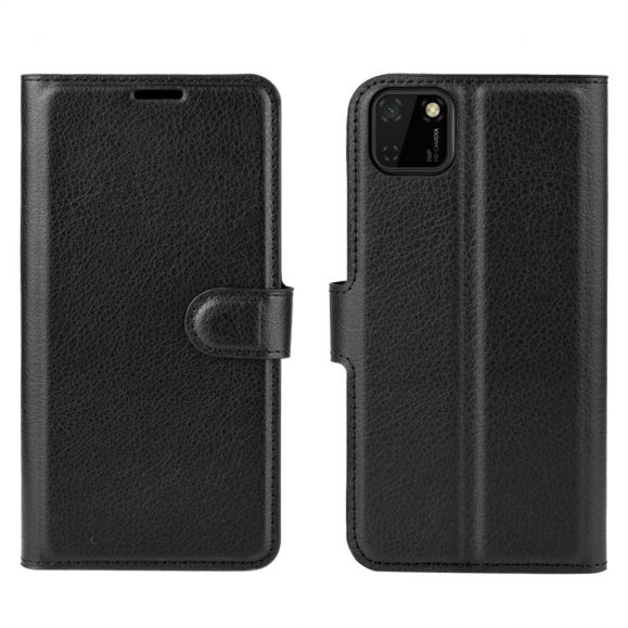 Housse Huawei Y5p portefeuille style cuir