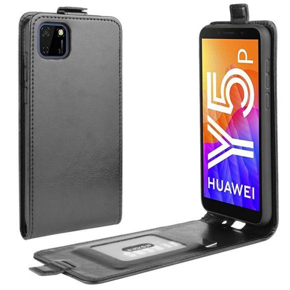 Étui Huawei Y5p simili cuir avec rabat vertical