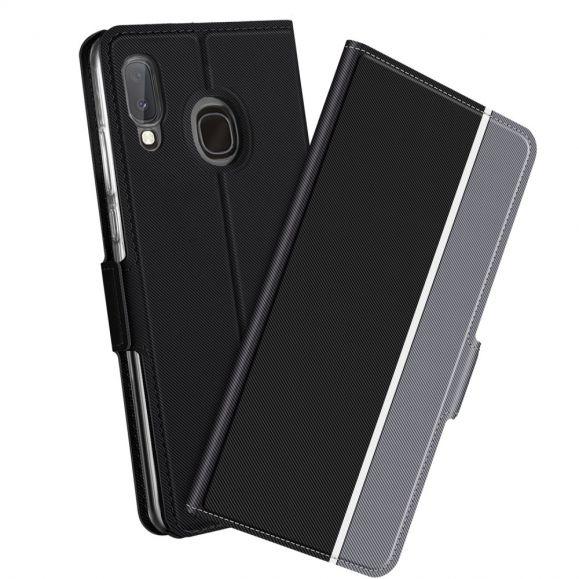 Housse Samsung Galaxy A20e Victoria style cuir