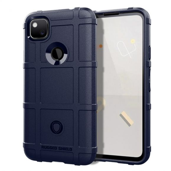 Coque Google Pixel 4a Rugged Shield Antichoc - Bleu marine