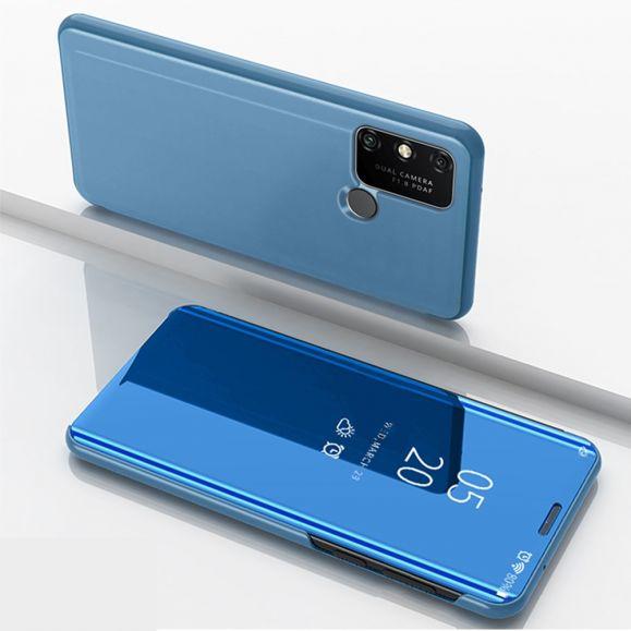 Coque Huawei Y6p avec rabat effet miroir