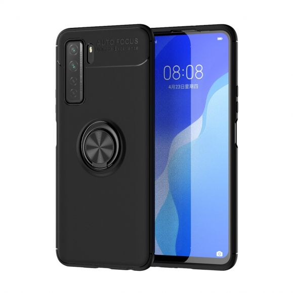 Coque Huawei P40 Lite 5G silicone avec support rotatif