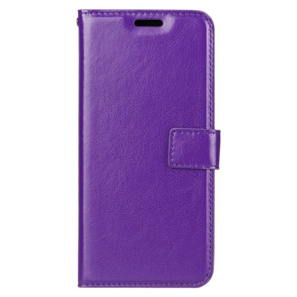 Housse Huawei P Smart 2020 Porte Cartes avec support - Violet