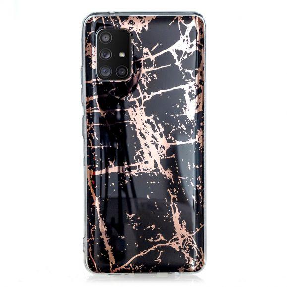 Coque Samsung Galaxy A51 5G Flexible Marbre Métallisé
