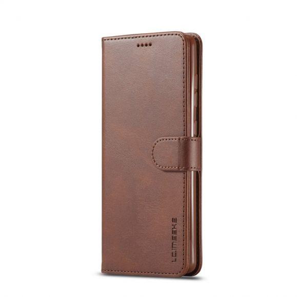 Housse Samsung Galaxy A51 5G Effet Cuir LC.IMEEKE