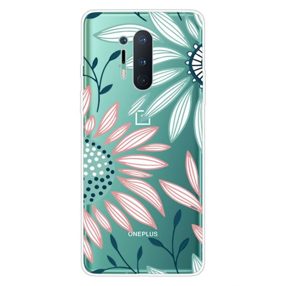 Coque OnePlus 8 Pro Daisy fleurs