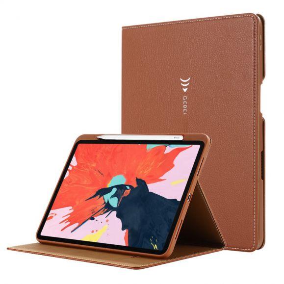 Housse iPad Pro 11 2020 simili cuir texture litchi
