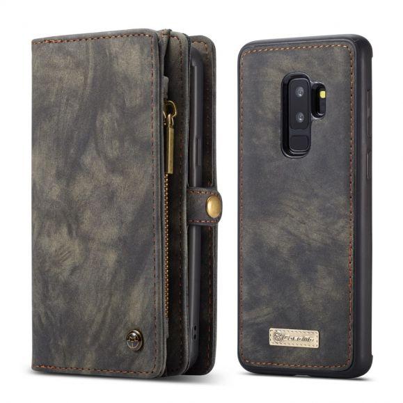 Housse et coque magnétique 2 en 1 pour Samsung Galaxy S9 Plus