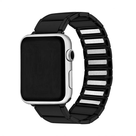 Bracelet Apple Watch  42mm / 44mm en acier inoxydable magnétique