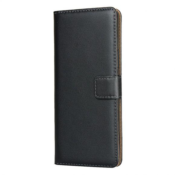 Étui folio Sony Xperia 1 II Effet Cuir Portefeuille - Noir