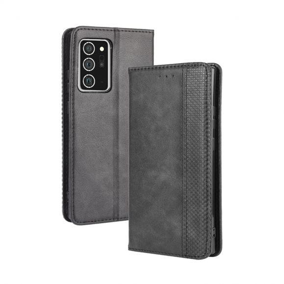 Housse Samsung Galaxy Note 20 Le Cirénius style cuir