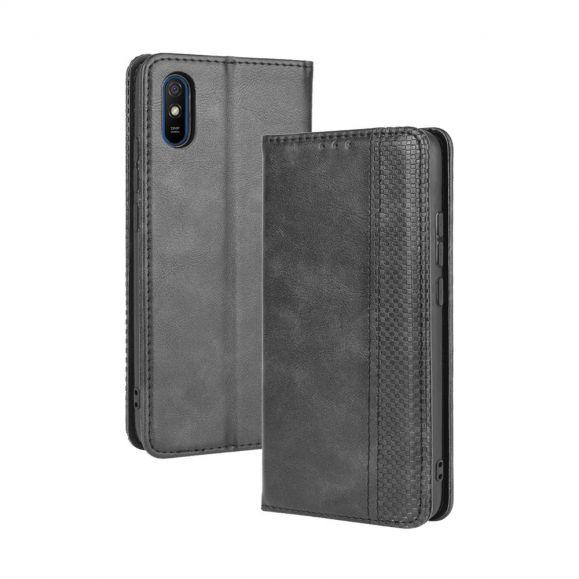 Housse Xiaomi Redmi 9A Le Cirénius style cuir