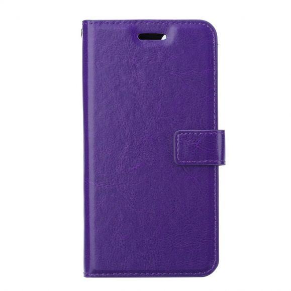 Housse Samsung Galaxy Note 20 Porte Cartes avec support - Violet