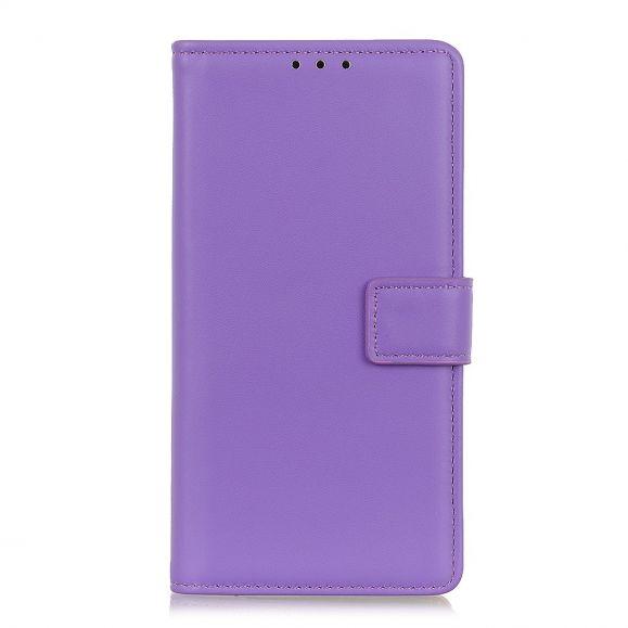 Étui OnePlus Nord simili cuir basique - Violet