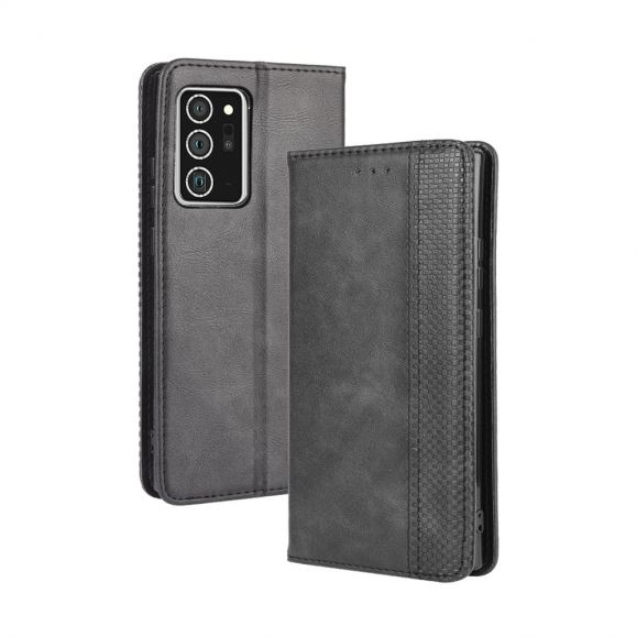 Étui Samsung Galaxy Note 20 Le Cirénius Style Cuir