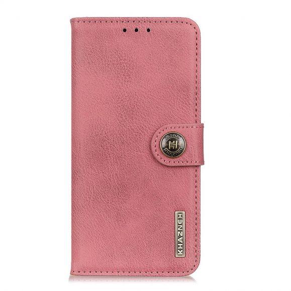 Housse Samsung Galaxy Note 20 KHAZNEH Effet Cuir Porte Cartes - Rose