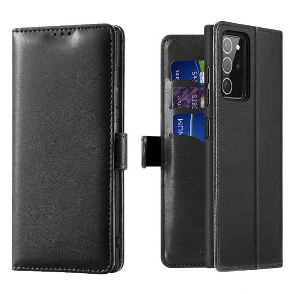 Housse Samsung Galaxy Note 20 Serie Kado simili cuir - Noir