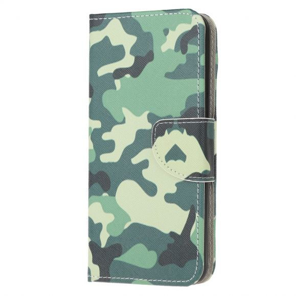 Housse Samsung Galaxy A21s Camouflage Militaire