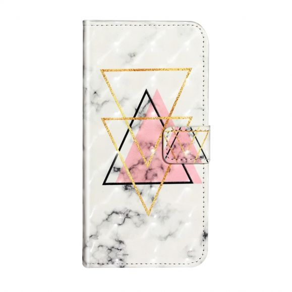 Housse Samsung Galaxy S20 Triangles Marbre