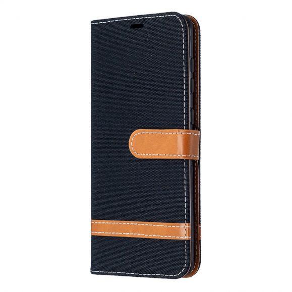 Étui Samsung Galaxy A21s revêtement tissu
