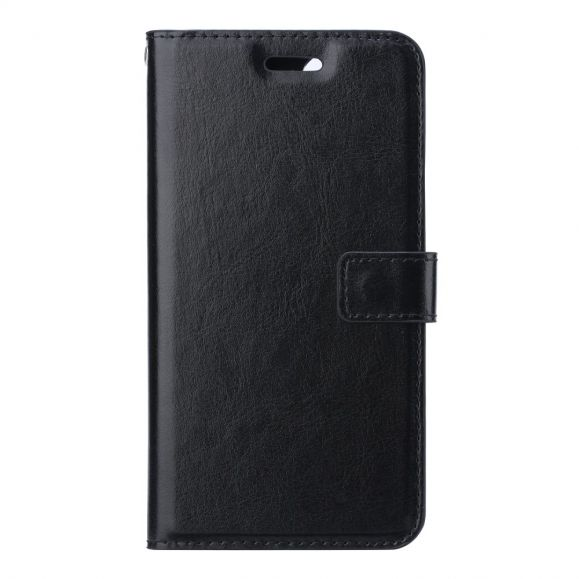 Housse Samsung Galaxy Note 20 Effet Cuir Porte Cartes Support - Noir