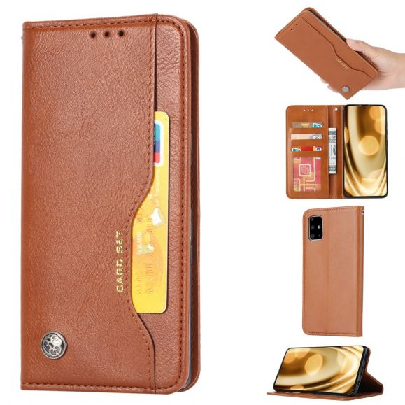 Housse Samsung Galaxy Note 20 Ultra Effet Cuir Stand Case