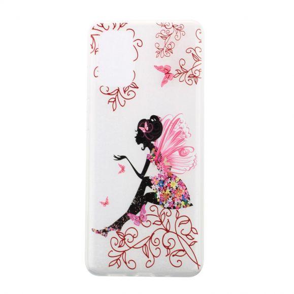 Coque Samsung Galaxy A41 transparente fairy