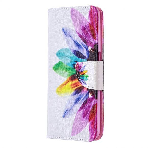 Étui Oppo A72 pétales colorés