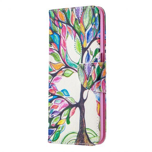 Étui Oppo A72 arbre coloré