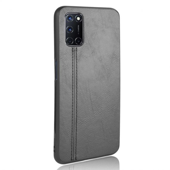 Coque Oppo A72 Effet Cuir Coutures