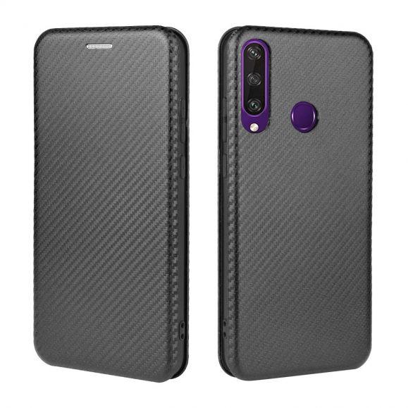 Housse Huawei Y6p Effet Fibre de Carbone