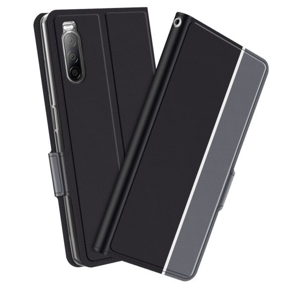 Housse Sony Xperia 10 II Victoria style cuir