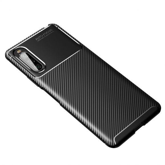 Coque effet fibre de carbone pour Sony Xperia 10 II