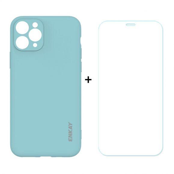 Coque + Film protecteur en verre trempé pour iPhone 11 Pro Max