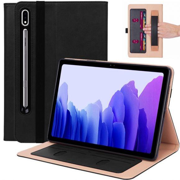 Housse Samsung Galaxy Tab S7 simili cuir avec anse