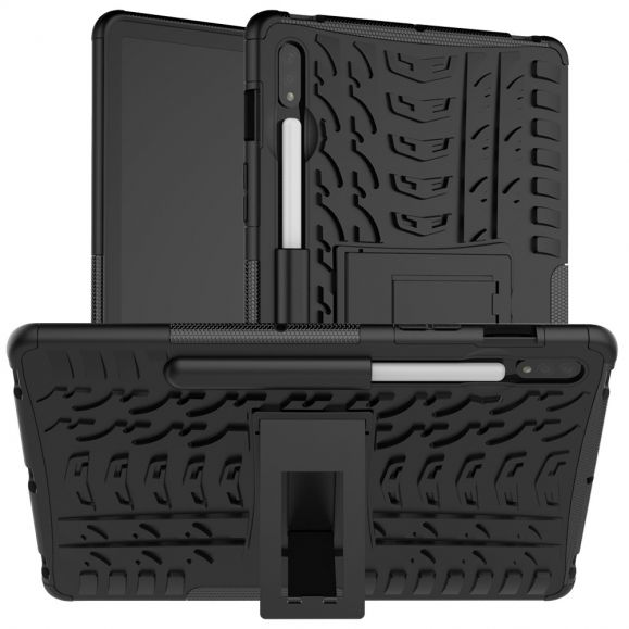 Coque Samsung Galaxy Tab S7 Plus antidérapante fonction support