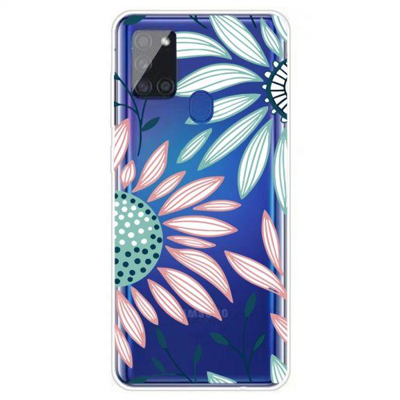 Coque Samsung Galaxy A21s Daisy fleurs