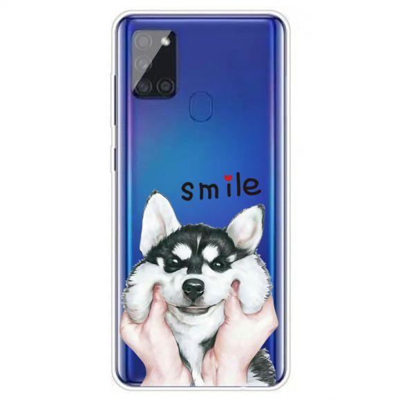 Coque Samsung Galaxy A21s Smile Chien