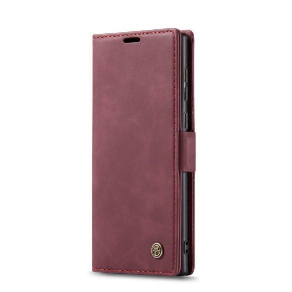 Housse Samsung Galaxy Note 20 Golias effet cuir - Vin Rouge