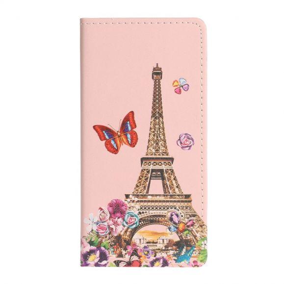 Housse Samsung Galaxy Note 20 Tour Eiffel Printemps