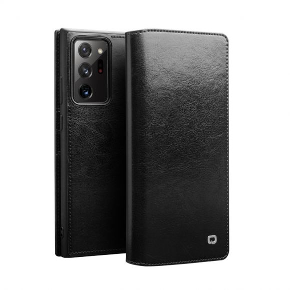 Housse Samsung Galaxy Note 20 Ultra en cuir véritable