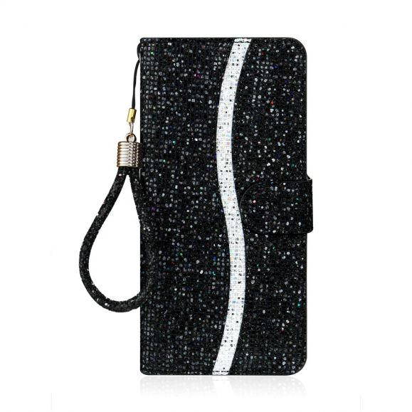 Housse Samsung Galaxy Note 20 Ultra Glitter Porte Cartes