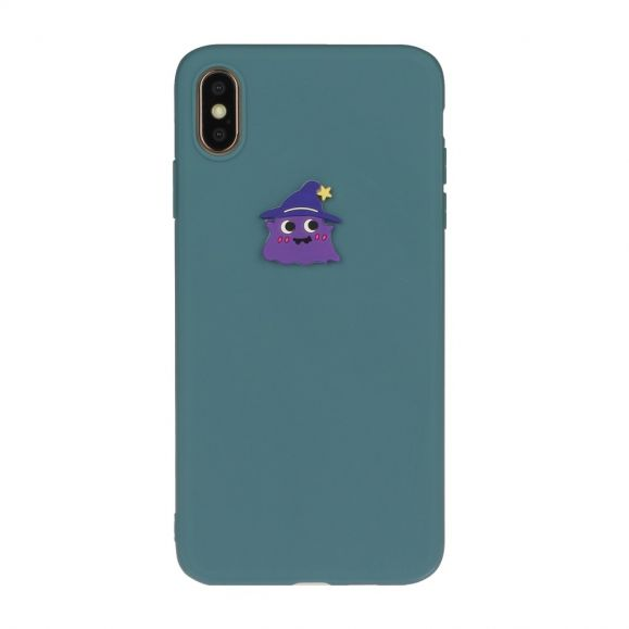 Coque iPhone XS Max Silicone Monster