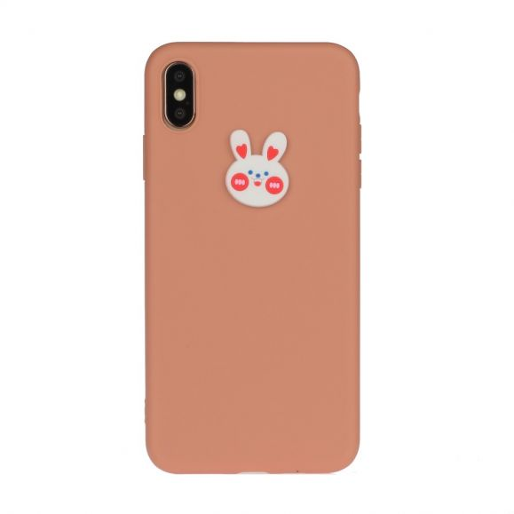 Coque iPhone XS Max Silicone Lapin
