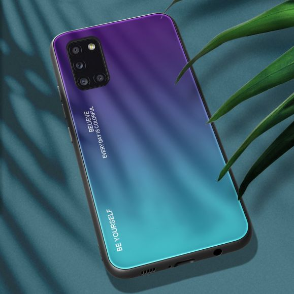 Coque Samsung Galaxy A31 dégradé de couleurs