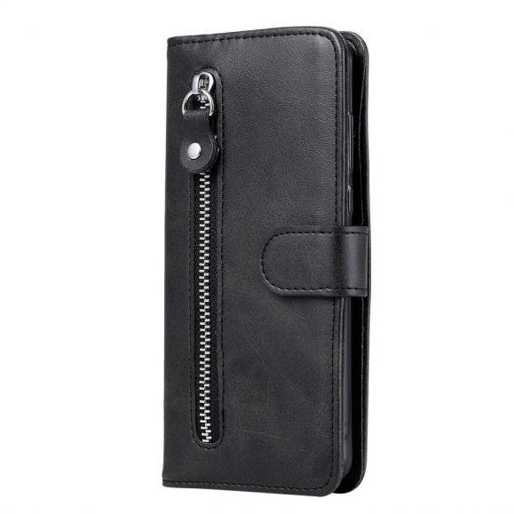Housse Samsung Galaxy A31 Zipper Pocket Fonction Support