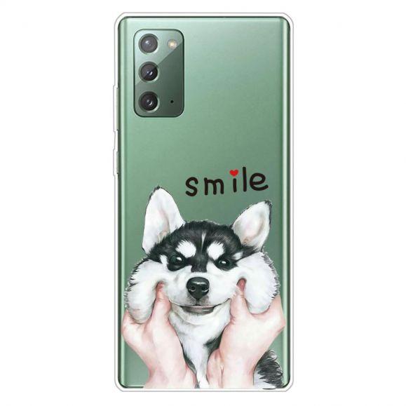 Coque Samsung Galaxy Note 20 Smile Chien