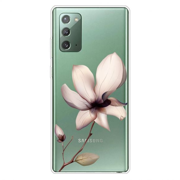 Coque Samsung Galaxy Note 20 fleur sauvage